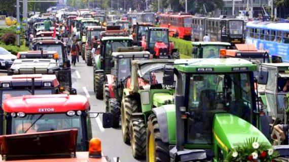 Croatia Farmer Protest
