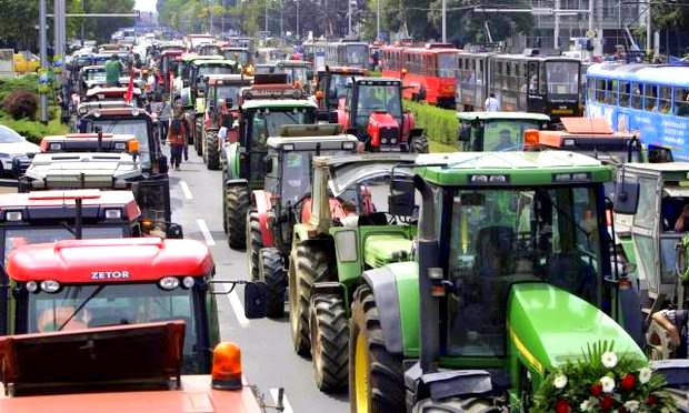 Croatia Farmer Protest