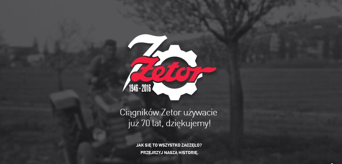 70 lat zetor