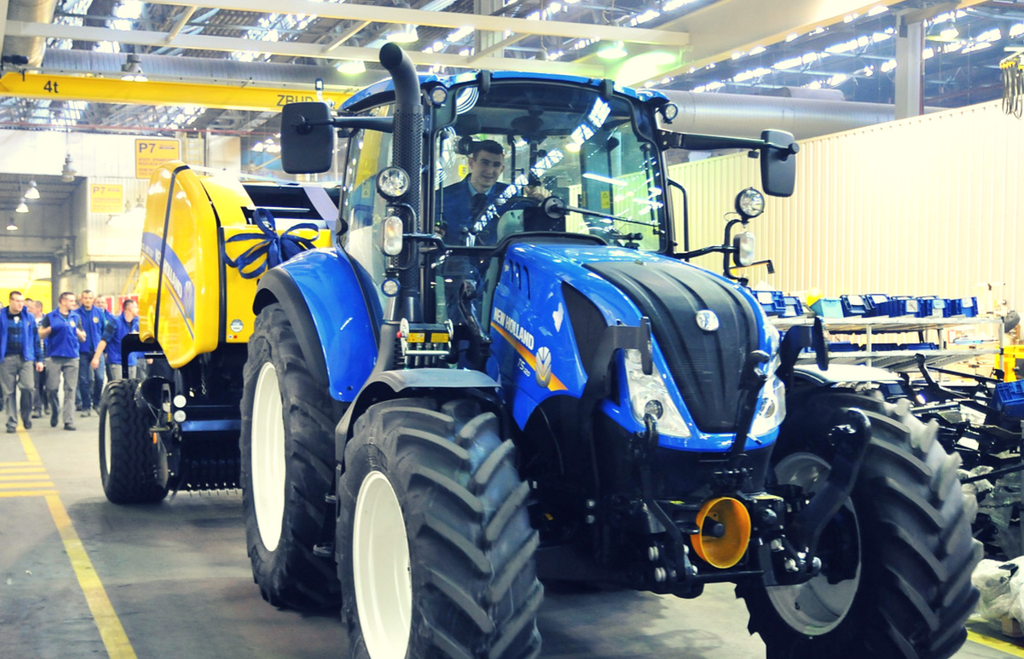 new holland fabryka 2