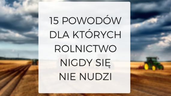 15 POWODÓW