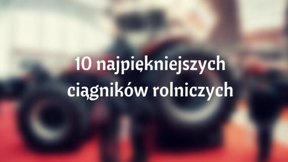 10 ciągników