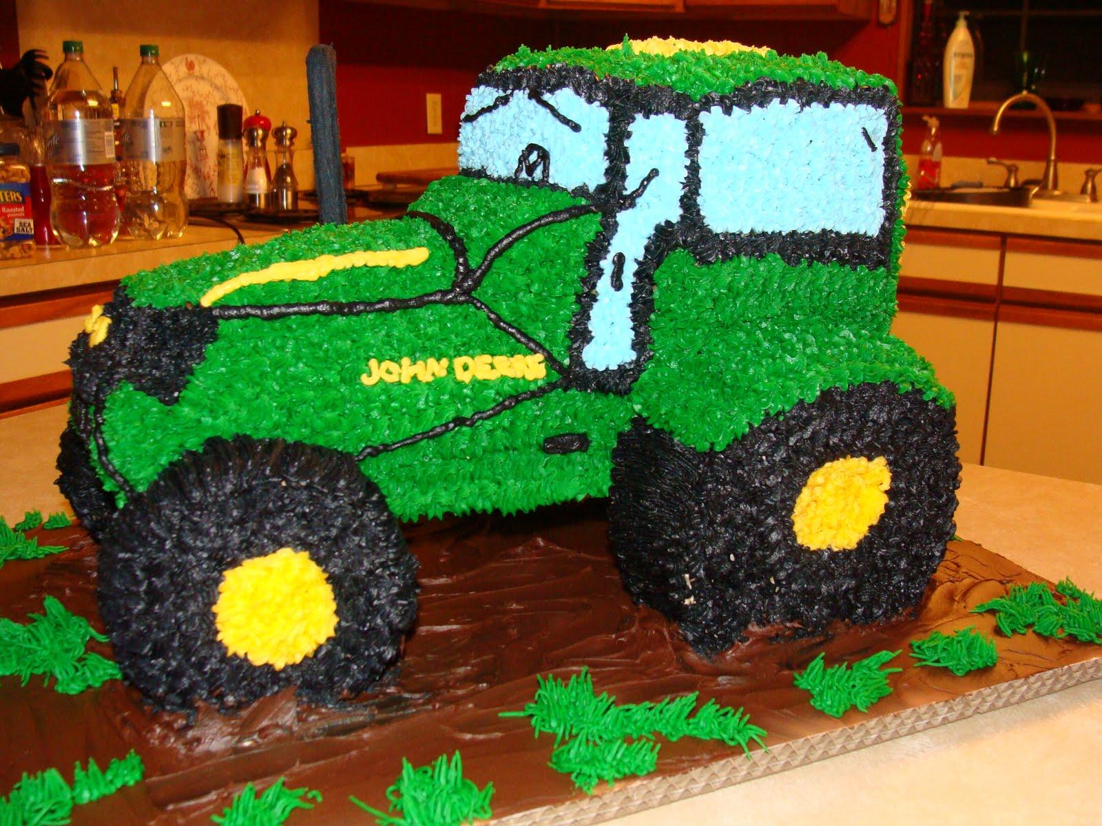 Торт картинка трактор